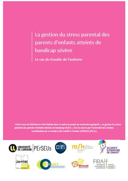 La gestion du stress des parents d'enfants atteints de handicap sévère : le cas du trouble de l'autisme