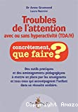 Troubles de l'attention avec ou sans hyperactivité (TDA/H)